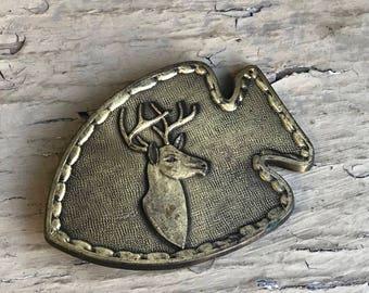 Deer Arrow Belt Buckle