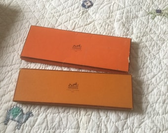Vintage Hermes boxes