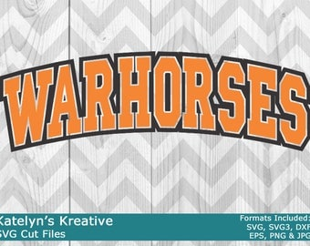 Warhorses Arched SVG Files