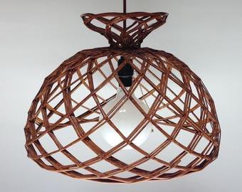 Wicker Rattan Pendant Light  Hanging Light