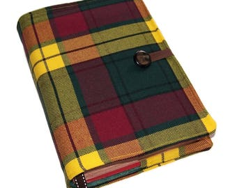 MacMillan Tartan Bible Cover in MacMillan Modern Old Tartan, Made to Order only, UK Seller, Suitable for Hardback Books or Paperback Books