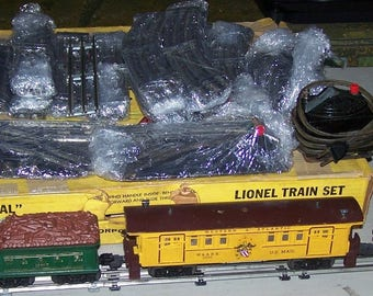 Vintage 1950's Lionel Old Time 1862 General Train Set w/Original Box