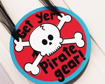 Pirate Birthday Party Door Sign, Pirate Door Sign, Pirate Decor, Pirate party