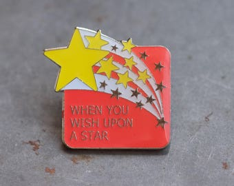 When you Wish Upon a Star Badge - Lapel Pin