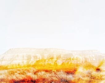 Abstract Southwest Desert Landscape #11