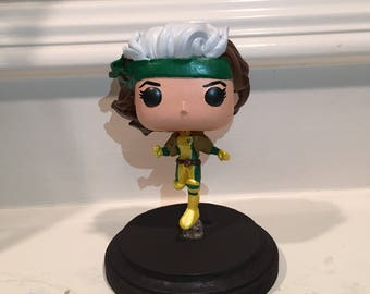 Made to order Rogue  custom resin funko pop allow 9 days for shipping.