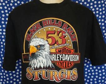 1993 Sturgis t-shirt, slim XXL