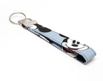 Mickey Key Chain / Key Fob / Wristlet - Character Fob - Choose the lenght