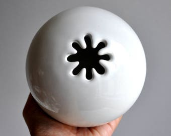 White Spark Vessel by David Gil Bennington Potters