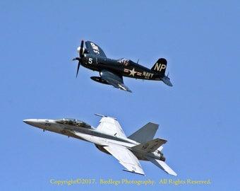 Naval Generations - F-4 Corsair and F-18 Super Hornet