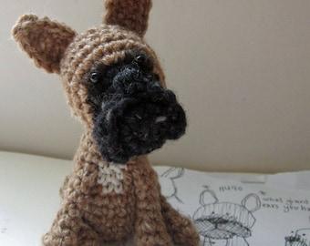 Crochet Pattern for Hugo the French Bulldog