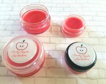 Candy Apple lip balm, lipgloss, red apple,  makeup, bridal make up,wedding make up,  handmade make up, apple,Spring, Fall, summer