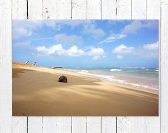 Beach Photography Prints | Nautical Decor | Coastal Decor Beach Art | Turquoise Blue White Gold Ocean Art | Beach Theme Home Decor Wall Art