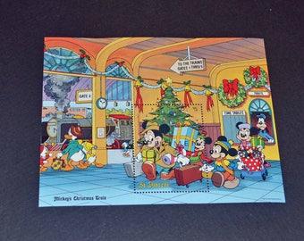 Saint Vincent Disney Mickey Mouse Christmas Mint