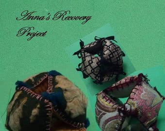 """SPECIAL Anna's """"Recovery"""" Project Pattern - Pillow Ball Pin Cushion Electronic Pattern -  By Anna Worden Bauersmith"""
