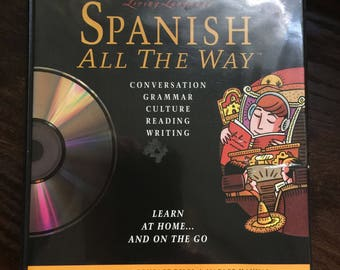 Living Language Spanish All the Way Learn at Home and on the Go by Irwin Stern