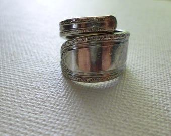 Vintage Sterling Silver Oneida LTD Spoon Ring