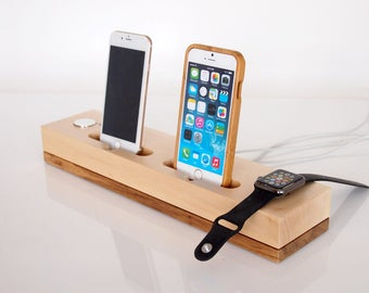 iphone 6 docking station 2 phone dock etsy 3077