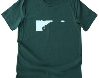 Idaho Gun-Tree Tee -BANANA ink