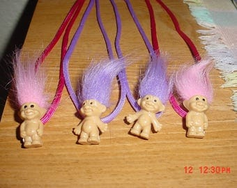 Cute Troll Necklace or Troll Keychain (Your Choice) (Get Them While They Last)