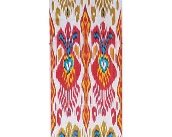 Sale! Silk Ikat Fabric, Ikat Fabric by the yard, F-A472