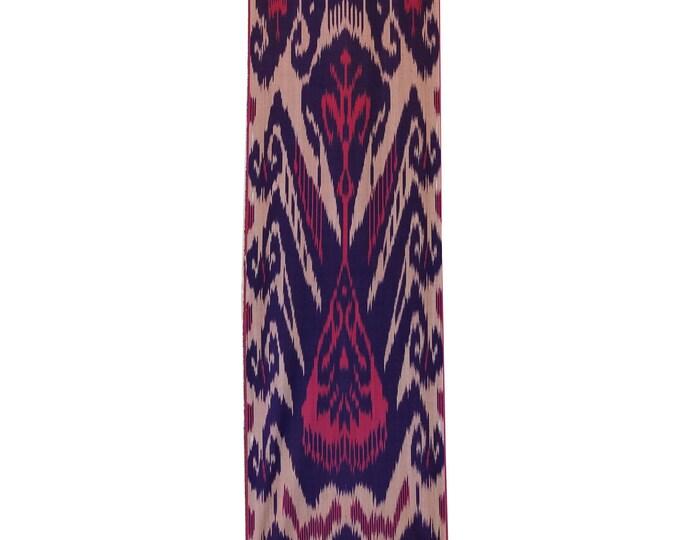Sale! Ikat Fabric, Ikat Fabric by the yard, Hand Woven Fabric, Cf105