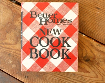 Vintage Better Homes & Gardens Cook Book Binder 1968