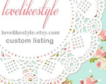 Custom Listing for christiecabahug68