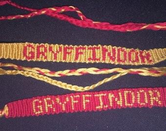 Gryffindor House Bracelet