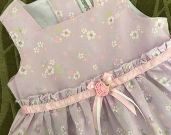 Vintage youngland Baby Dress, 3-6 mos.