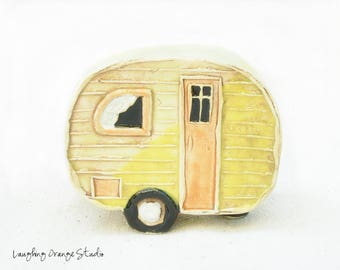 Yellow Fairy Camper