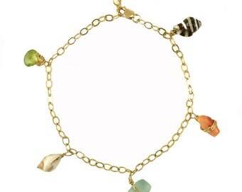Hapa Shell Charm Bracelet