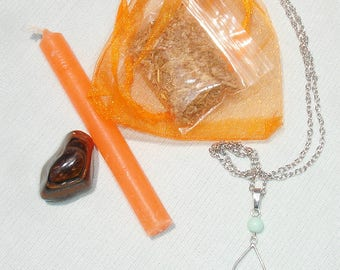 Creativity Spell Kit with Token Necklace - Everything You Need