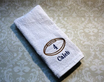Personalized Football Sport Towel 2  ST0071