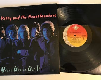 Tom Petty And The Heartbreakers / 1st press 1978 Shelter LP / You're Gonna Get It!