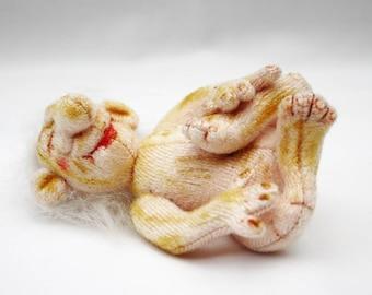 Kurzol Troll Baby Cloth Art Doll