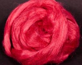 100% Dyed Flax combed top - Bonbon - (2 oz.)