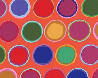 Artisan by Kaffe Fassett for Free Spirit - Paint Pots - Red Orange - FQ - Fat Quarter Cotton Quilt Fabric 817