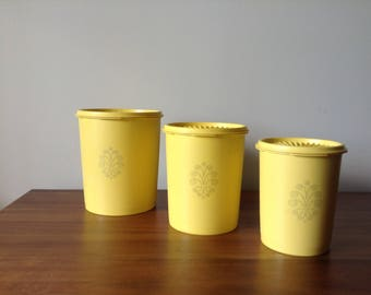 Tupperware Nesting Storage Containers | 1960s-70s