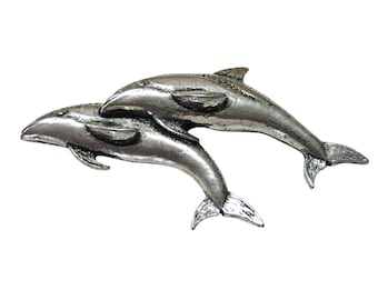 Pair of Dolphins Magnet
