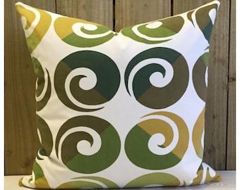 Cushion Cover Original Lucienne Day Helix Fabric Mid Century Retro Pillow Eames Era