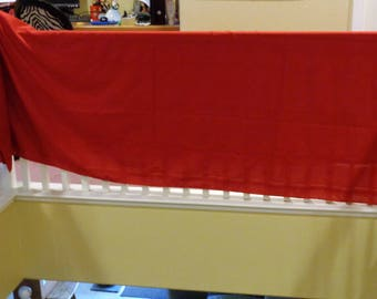 Beautiful Large Red Table Cloth Tablecloth 100 x 58