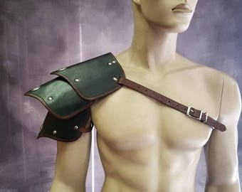 Leather Armor Segmented shoulders