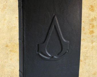 Assassin's Creed Black Leather Journal