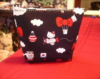Red Hello Kitty Make-Up Bag