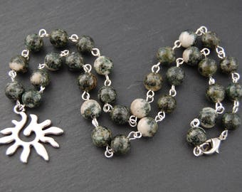 Stonehenge Necklace with Preseli Bluestone. Solstice Myth Wales Celtic Arthurian Pagan Wicca Witch Druid Shaman Stone Merlin Sacred Britain