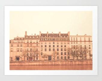 Canvas art, Paris photography, Paris wall art, Paris decor, Paris Canvas, coral wall art, Paris print, Paris photo, Paris architecture