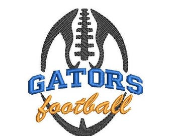 ON SALE Gators Football Embroidery Design - Instant Download