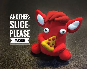 Pizza Lover, Mason the Chummster, monster bash, party decorations, monster toppers, monster goody bag, monsters birthday, pizza party
