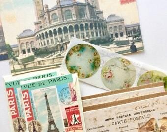 Parisian Pen Pal Vintage France Stationery Set